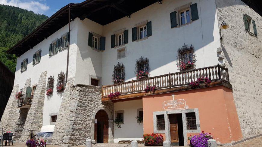 Palazzo Lodron Bertelli hystorical palace in Trentino