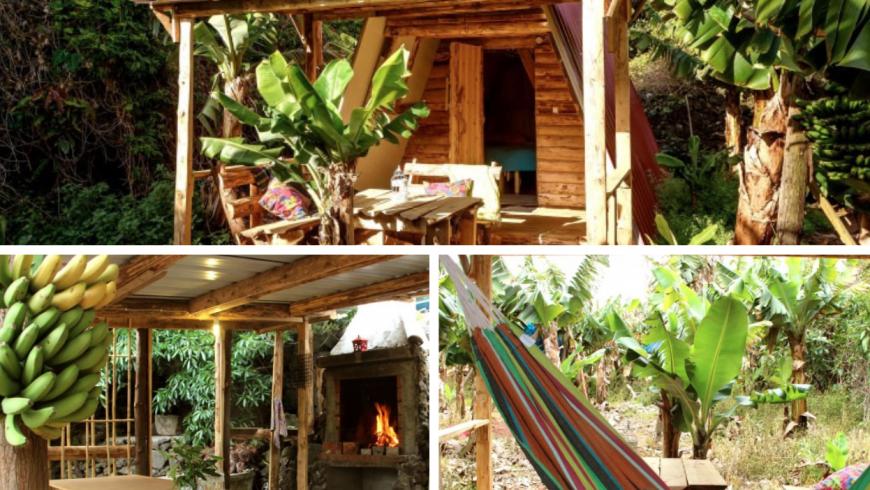 Banana Eco camp, Eco-hotel in Portugal