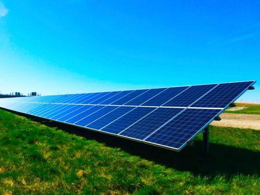 renewable energy sources, solar farm
