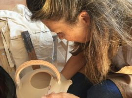 ceramic workshop at civico 75 eco-bnb