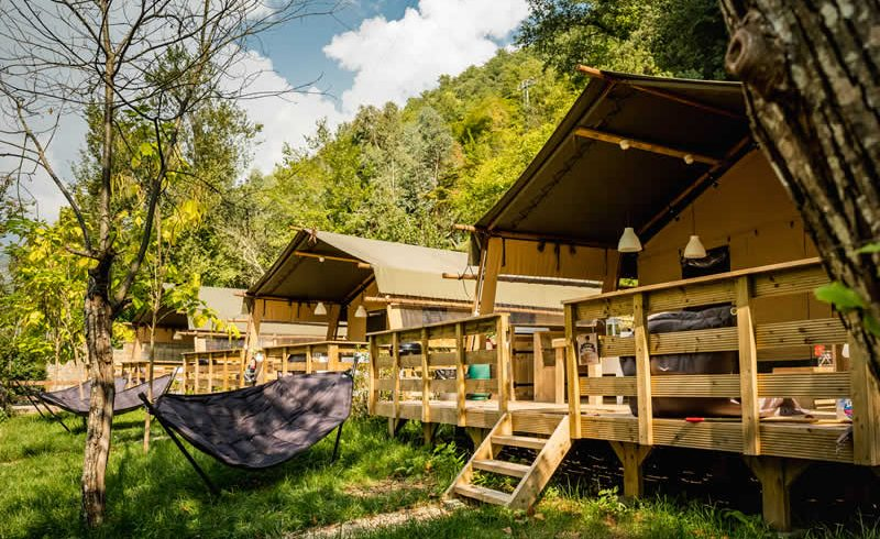 Glamping experience in Liguria