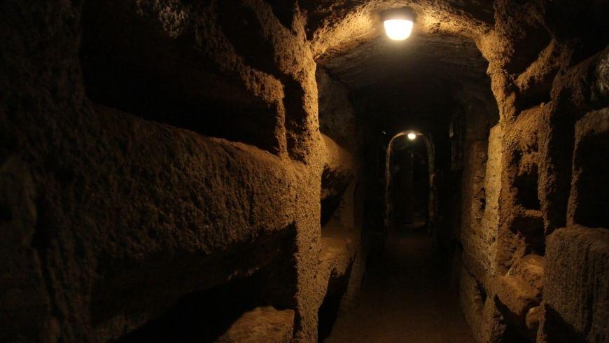 the inside of Rome's underground