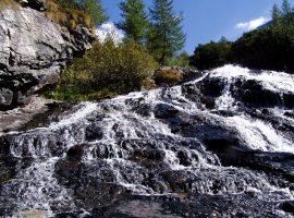 Mallnitz (Austria) waterfall