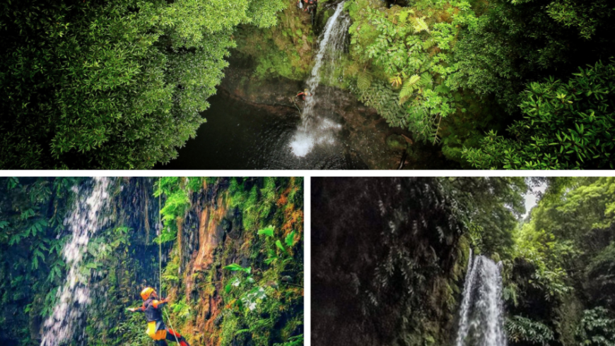 Ribeira da Salga, one of the 10 must-see Waterfalls in the Azores. Photos by Fun-activities.com, Experitour.com