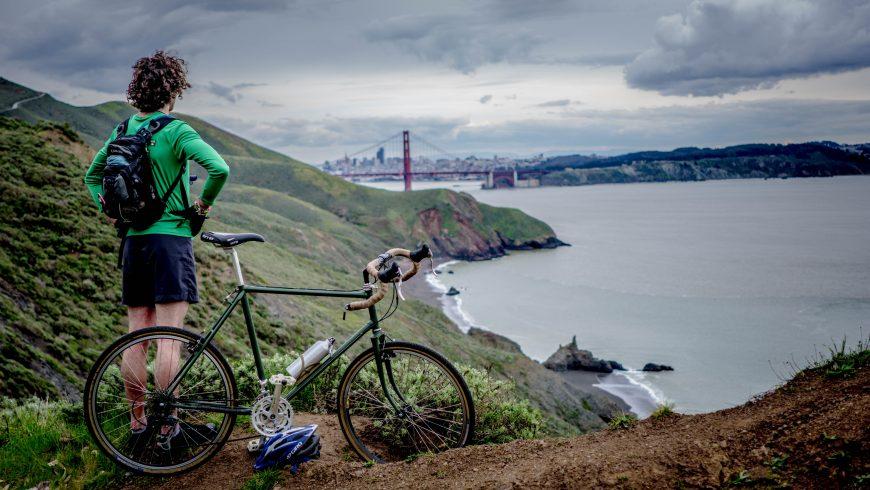 cycling in surroundings