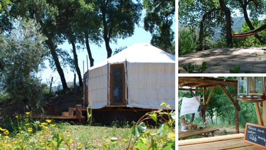 eco-friendly glamping in spain