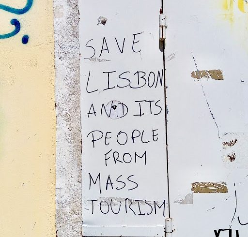 Save Lisbon from Mass Tourism. Photo by atig.americananthro.org