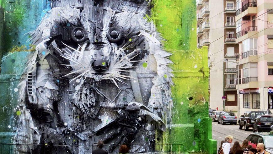 Street Art in Lisbon, photo by learnportugueseinlisbon.com