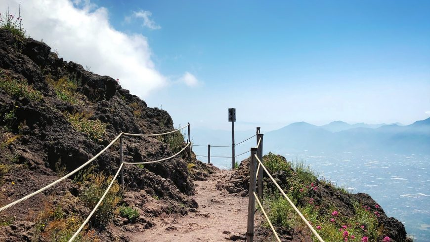 Trails in Vesuvius National Park