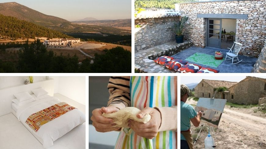 Farmhouse Cortijada Los Gázquez. Where you can escape the hustle and bustle of the city