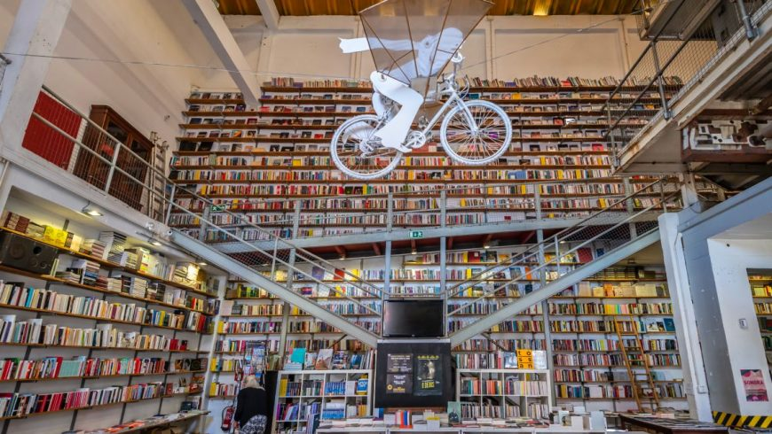 Library in Lisbon. Photo by lxfactory.com