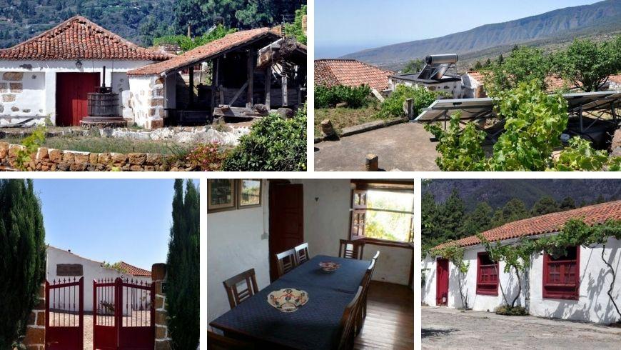 Farmhouse Lo de Carta casa rural Arafo. Where you can escape the hustle and bustle of the city