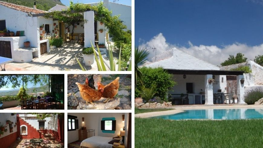 Farmhouse Casa Belmonte. Where you can escape the hustle and bustle of the city