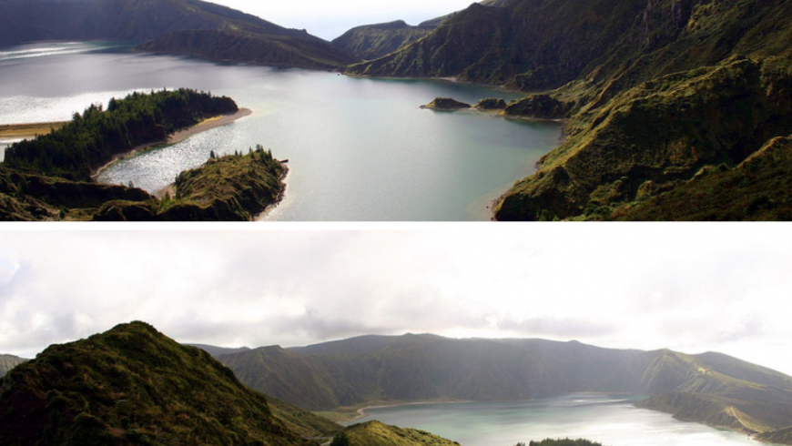 Lagoa do Fogo, Sao Miguel Island, Azores