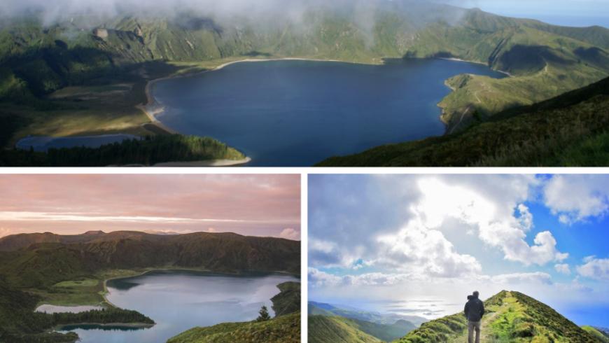 Miradouro do Pico da Barrosa, Sao Miguel Island, Azores