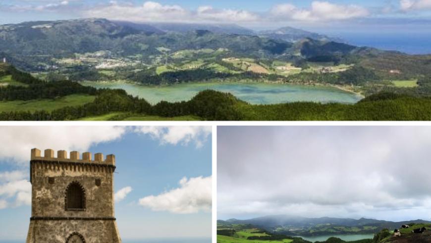 Miradouro do Castelo Branco. Azores