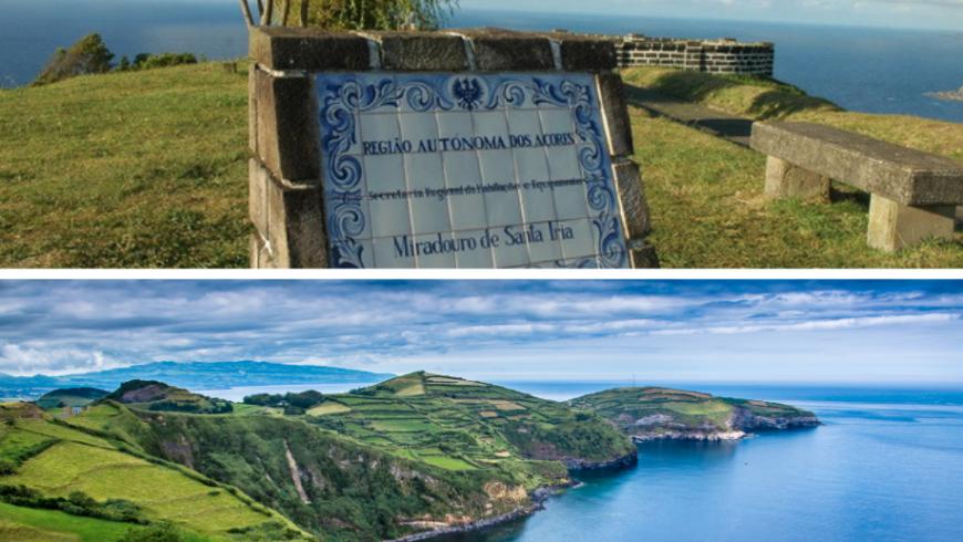 Miradouro de Santa Iria. Sao Miguel Island, Azores