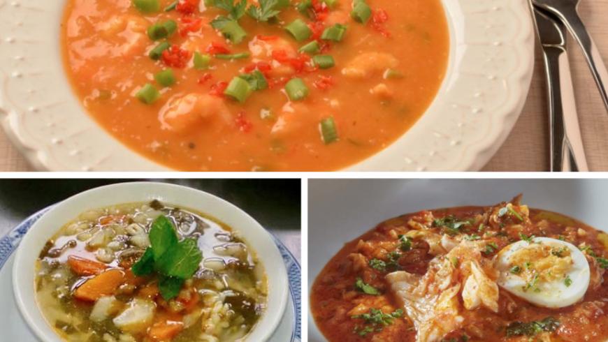 Sopa da Sogra. Local food Azores.