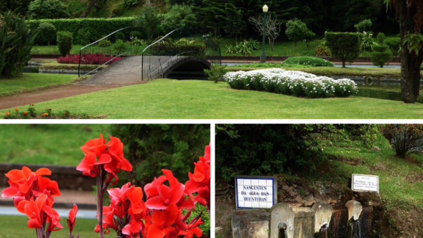 Jardim das Quenturas. Natural Park.