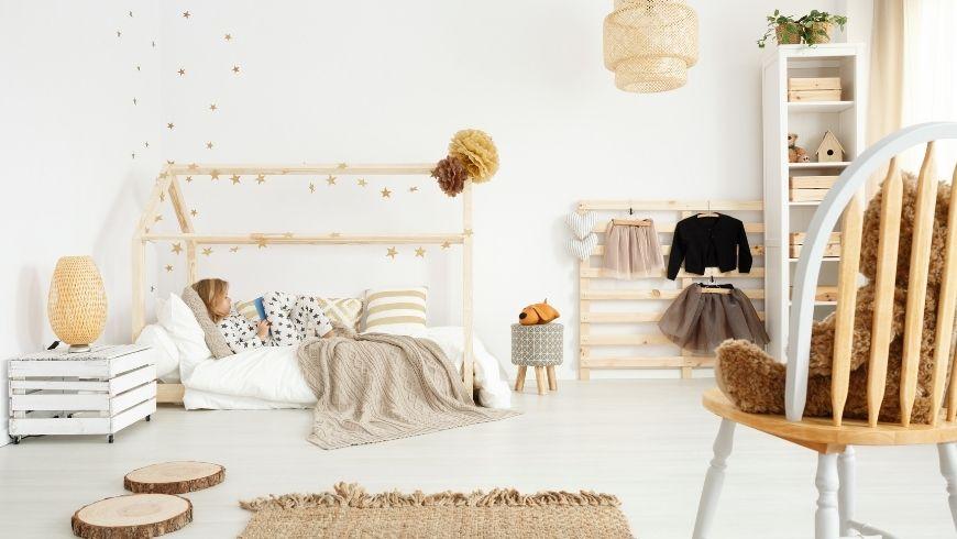 eco-friendly bedroom kid