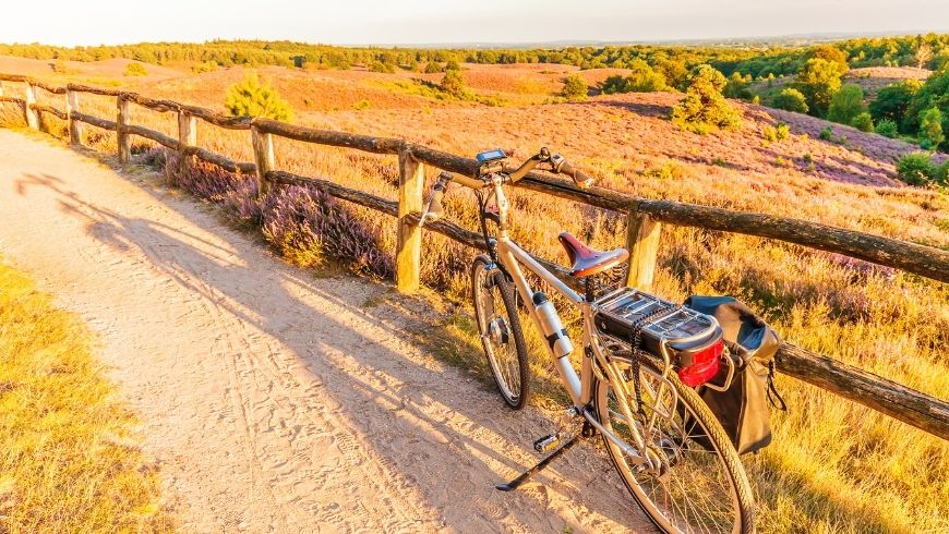 cycling and hiking trails for eco-tourists