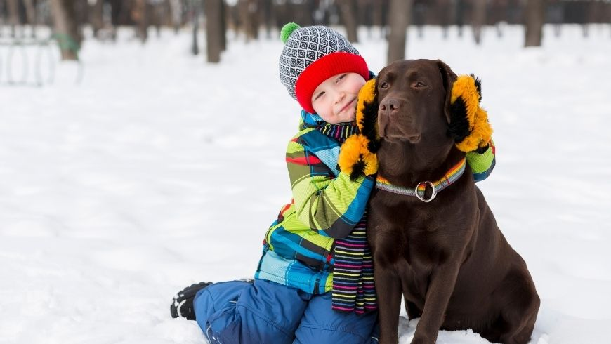 Benefits for Kids Who Grow Up With Dogs