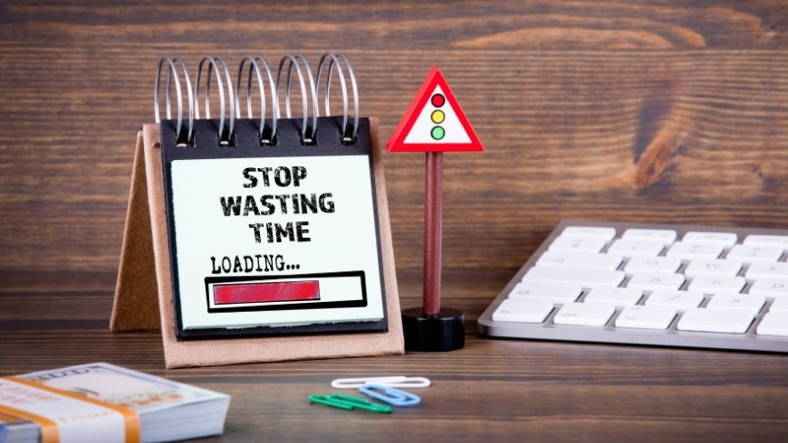 stop wasting time loading