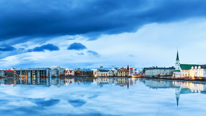 Reykjavik, one of eco-friendly cities where to go