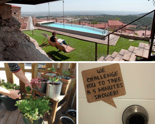Casa da Cisterna. Impact House. Sustainable accommodation.