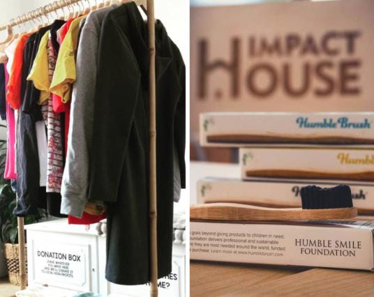 Clothing Swap and Circular Economy. Impact House.