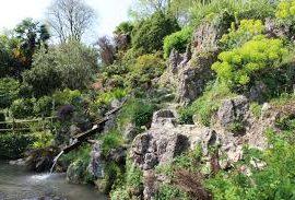 botanic garden in Gardone riviera