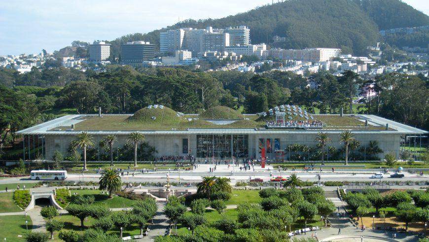 California Academy of Sciences, top Green museum