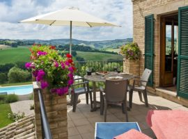 Your ecological and luxurious apartment in Marche region