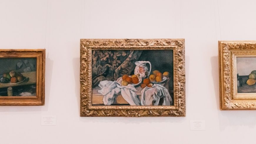Cezanne's Painting in the Hermitage, one of the most beautiful Green Museums