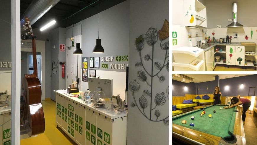 eco-hostel for student in Spain