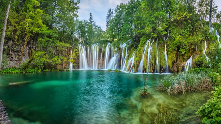 Pristine nature of Croatia