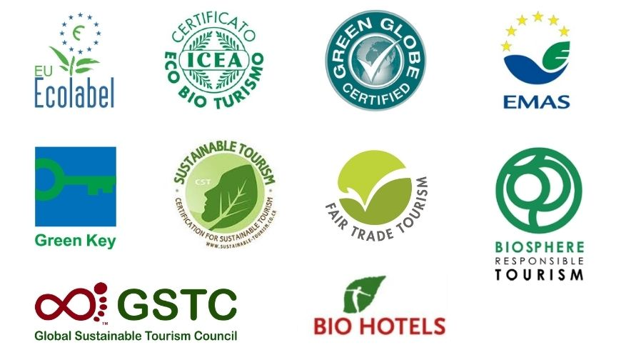 loghi certificazioni turismo