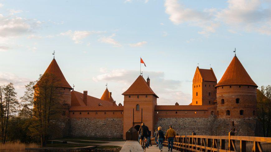 Trakai Castle, along the Amber Road