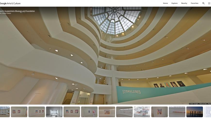 Online Museum Guggenheim, New York
