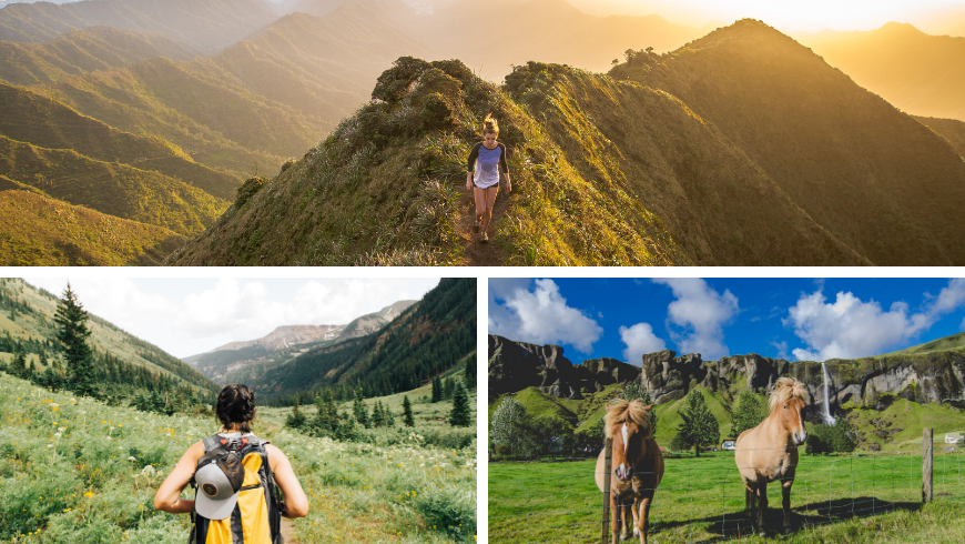 Outdoor activities. Travel Trends 2021