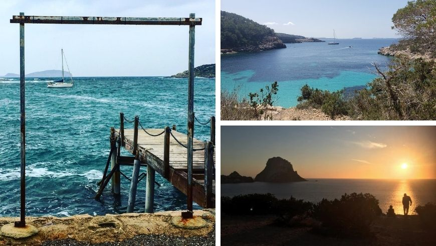 some place of Ibiza