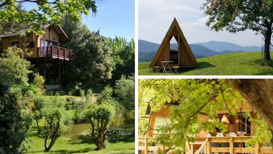 glamping and tree houses