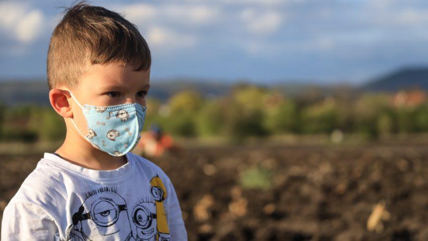 air pollution kid