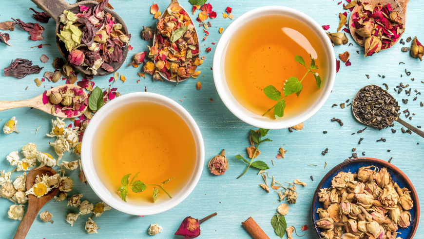 Make unique herbal tea for your wedding guests
