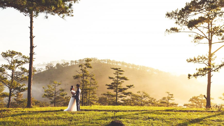how to plan a more sustainable wedding