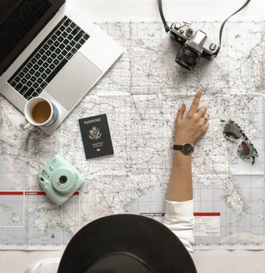 preparing your travel with passport
