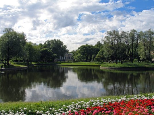 Yusupov Gardens in Saint Petersburg