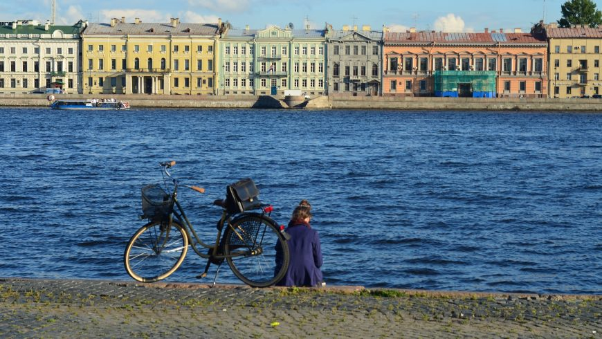 green itineraries by bike in Saint Petersburg
