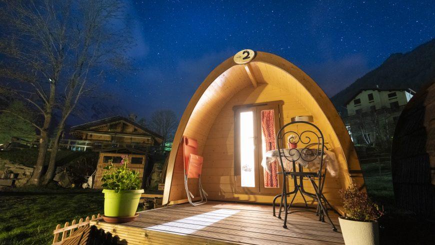 Camping in Gran Paradiso Park