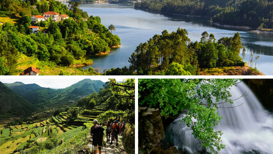 Natural Parks in Portugal. Photos by gettyimages.com, thenaturaladventure.com, tripsavvy.com